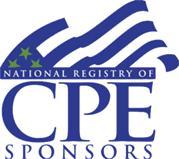 Seal designating a National registry of CPE Sponsors